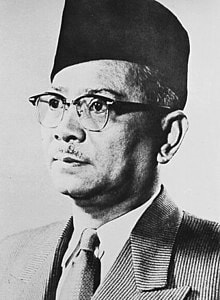 Malaysian independence was spearheaded by Tunku Abdul Rahman, Malaysia's first Prime Minister after the vents of the Malayan Emergency from 1948-1960.