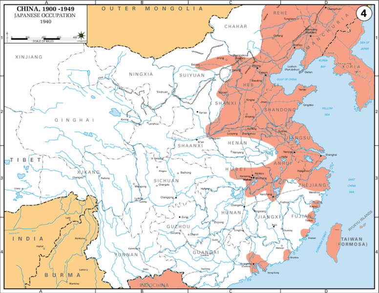 Japanese Occupation of China 1940