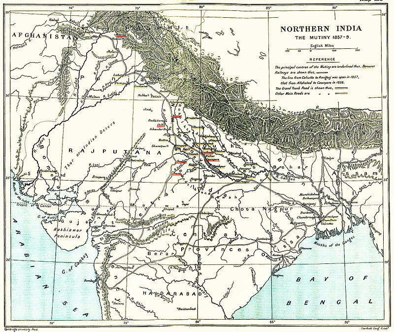 When reflecting on Indian independence, one must first look 1857's Sepoy Mutiny which planted the seeds of rebellion. While British forces succeeded in suppressing the revolt, the rebellion ended the British East India Company's rule, formally dissolving the corporation in 1848 and transferring ruling powers to the British Crown.​