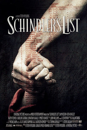 World War II Movies With Academy Award and/or Golden Globe Awards: Schindler's List