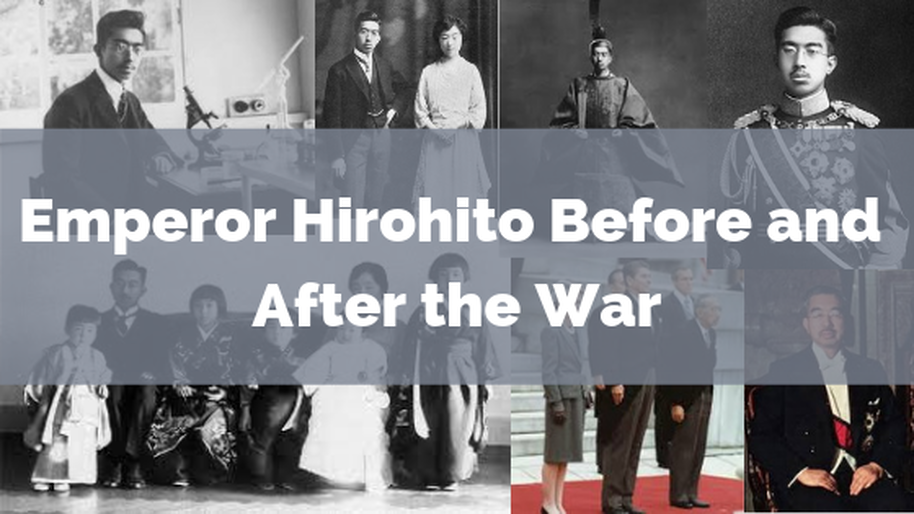 Emperor hirohito before and after the world war 2