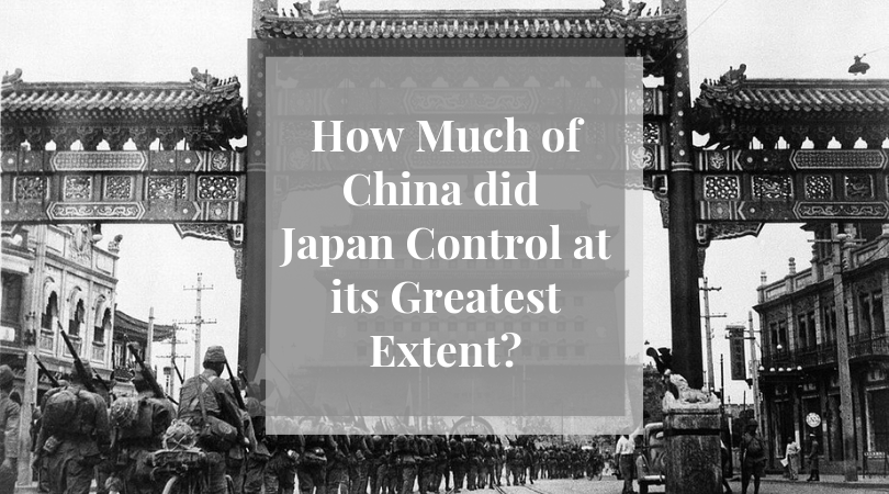 Japan's control on China
