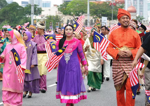 Known as Hari Merdeka (Independence Day) or Hari Kebangsaan (National Day), the national holiday is celebrated with fireworks, flag-waving, sporting events, and parades all throughout Malaysia.