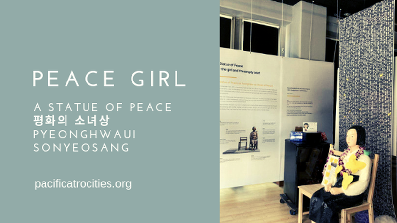 Peace girl: a statue of peace