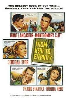 World War II Movies With Academy Award and/or Golden Globe Awards: From here to eternity
