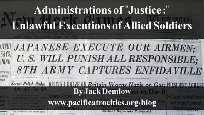 unlawful executions of allied soldiers