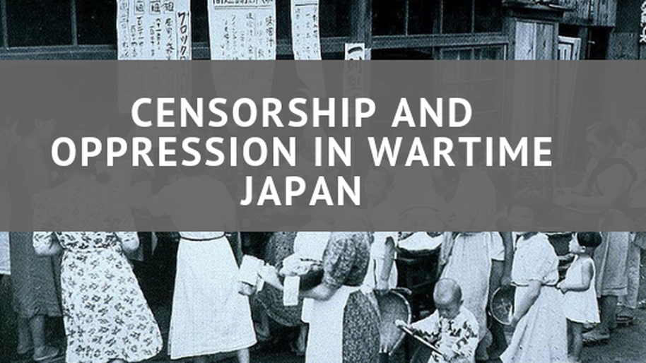 Censorship and Oppression in Wartime Japan. A key difference in Japan's McCarthy-like era and the United States' McCarthy era, that followed more than a decade later, is the manner and degree to which those accused were punished.