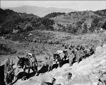 Battle of Burma: Ledo road
