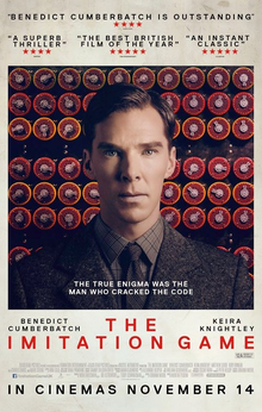 World War II Movies With Academy Award and/or Golden Globe Awards: the imitation game