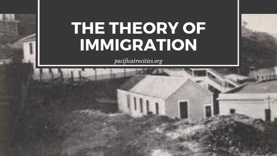 The theory of immigration: When speaking on immigration it is important to differentiate the experiences of all peoples. American Social Studies curriculum for example, only presents the topic of immigration as a 'unified or monolithic experience.'