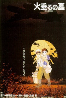 World War II Movies With Academy Award and/or Golden Globe Awards: Grave of the fireflies