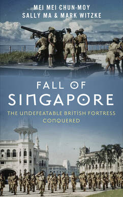 Book cover of Fall of Singapore