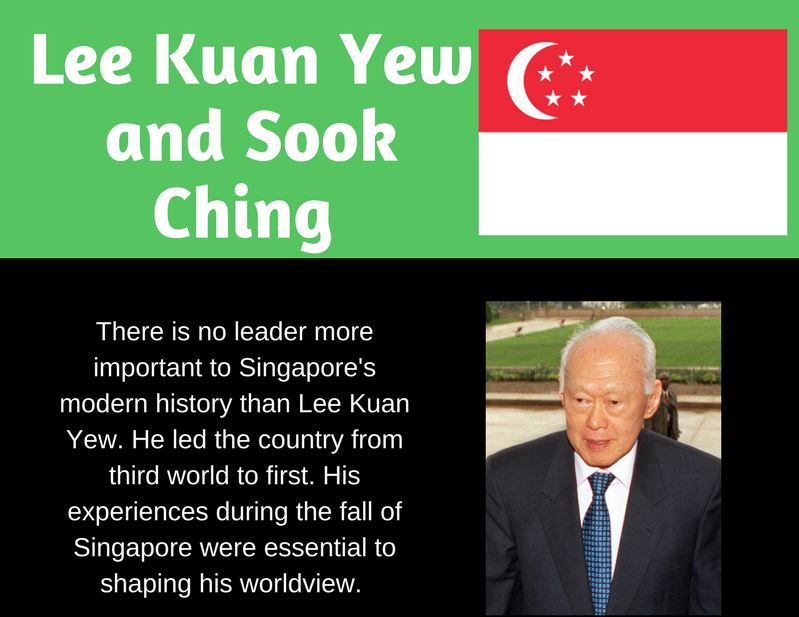 Lee Kuan Yew and Sook Ching