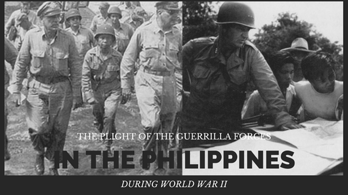 Plight of the guerrilla forces in the philippines during world war 2
