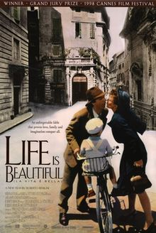 World War II Movies With Academy Award and/or Golden Globe Awards: Life is Beautiful